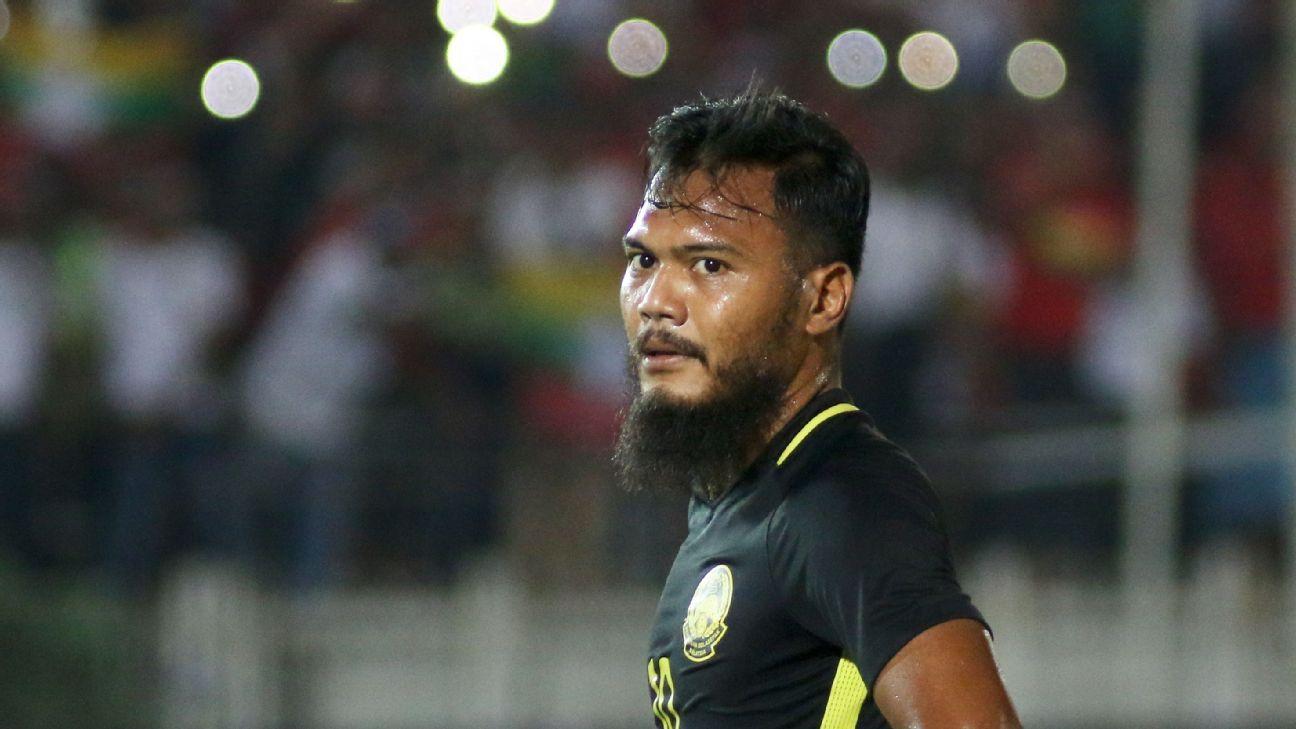 PKNS striker Safee Sali