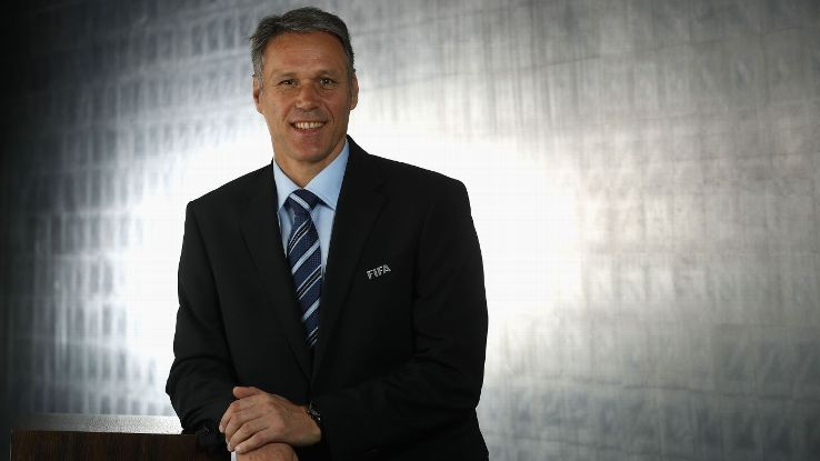 Marco van Basten joined FIFA in 2016.