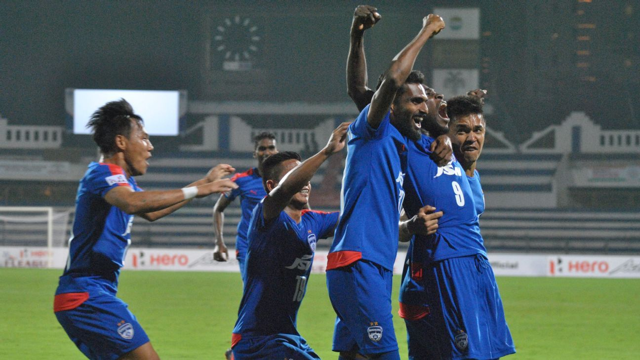 CK vineeth of Bengaluru FC
