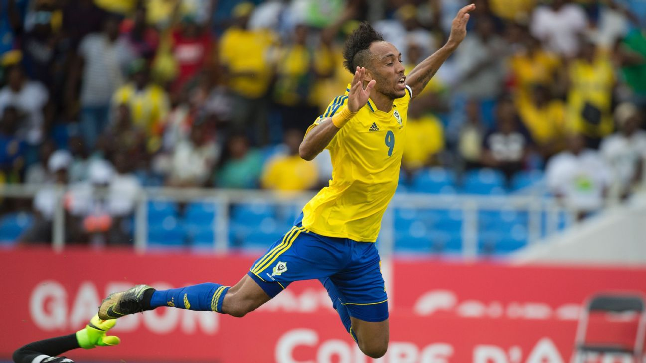 Pierre-Emerick Aubameyang couldn't muster a winner against Burkina Faso.