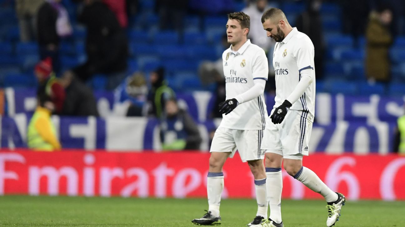 Real Madrid lost their second straight match on Wednesday.