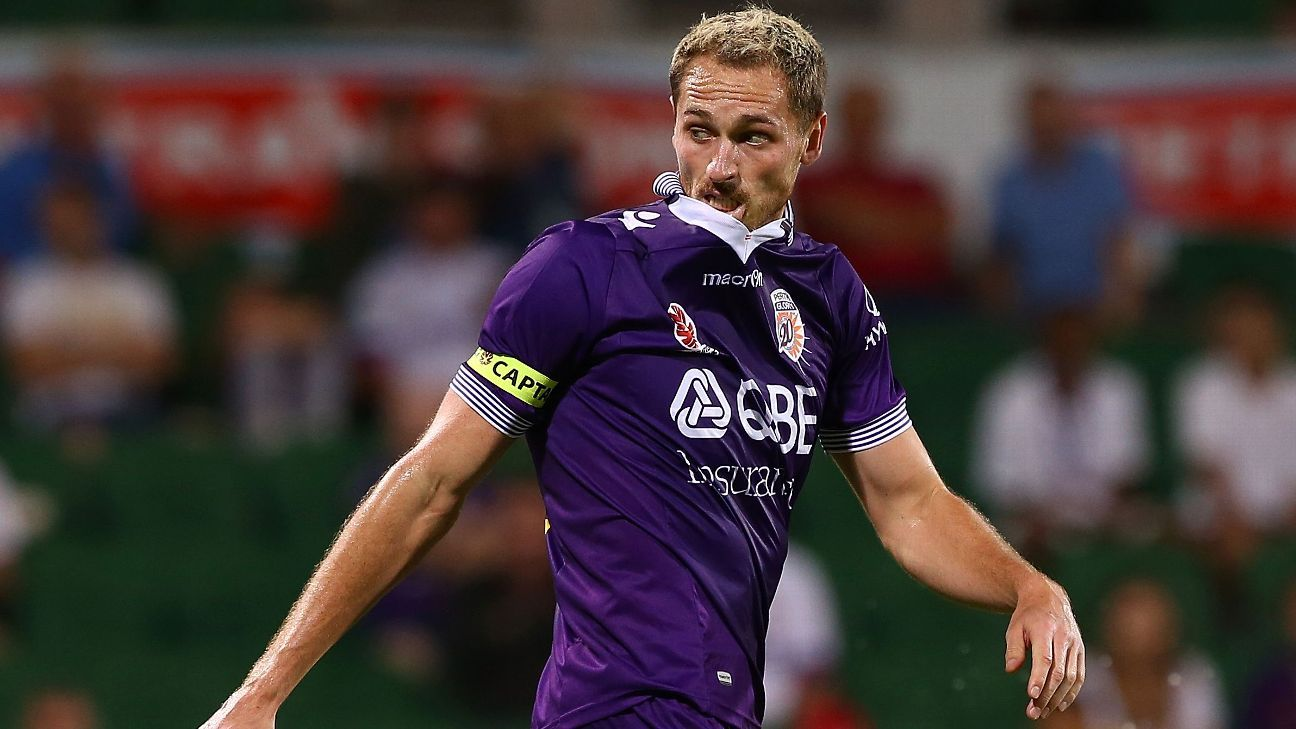Perth Glory's Rostyn Griffiths