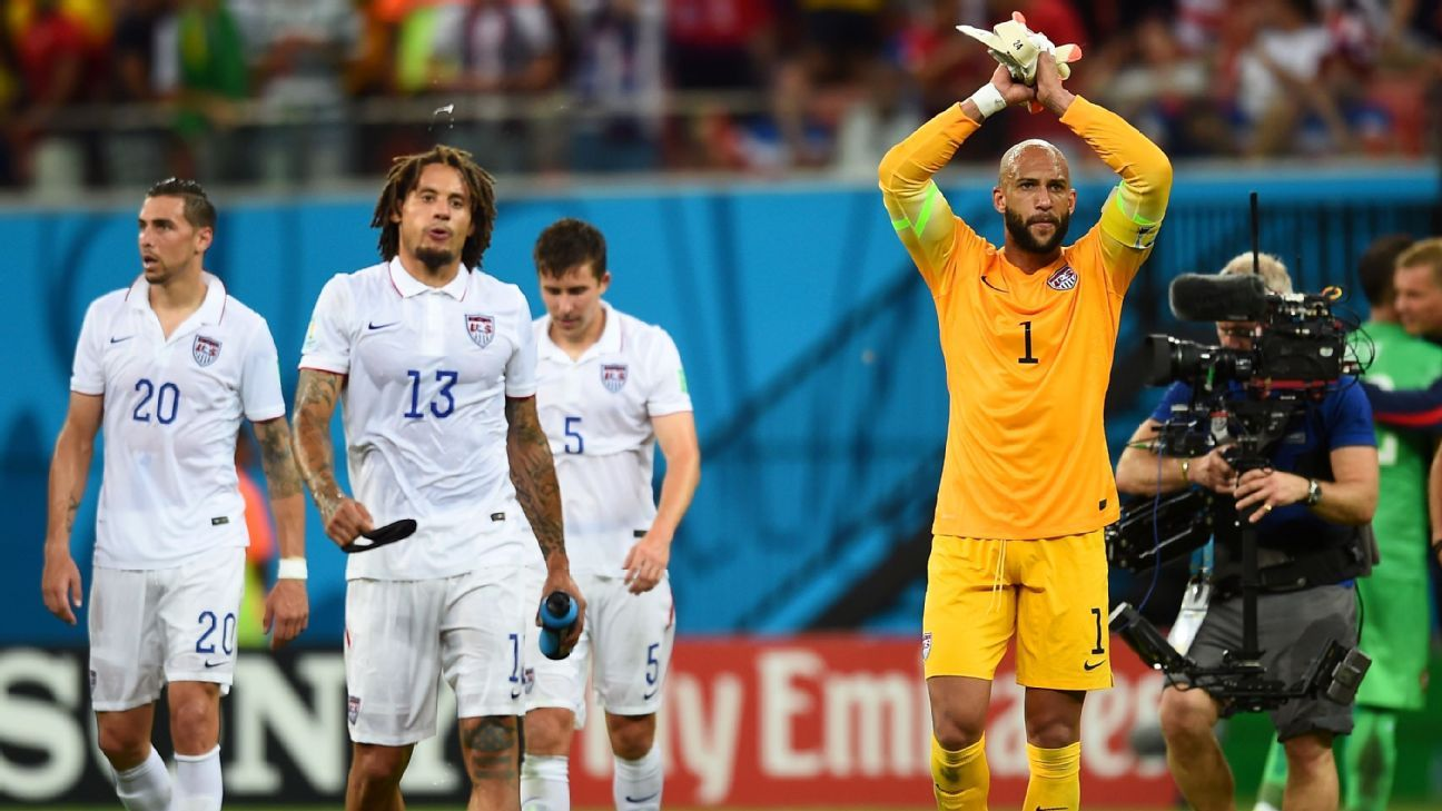 Jermaine Jones & Tim Howard
