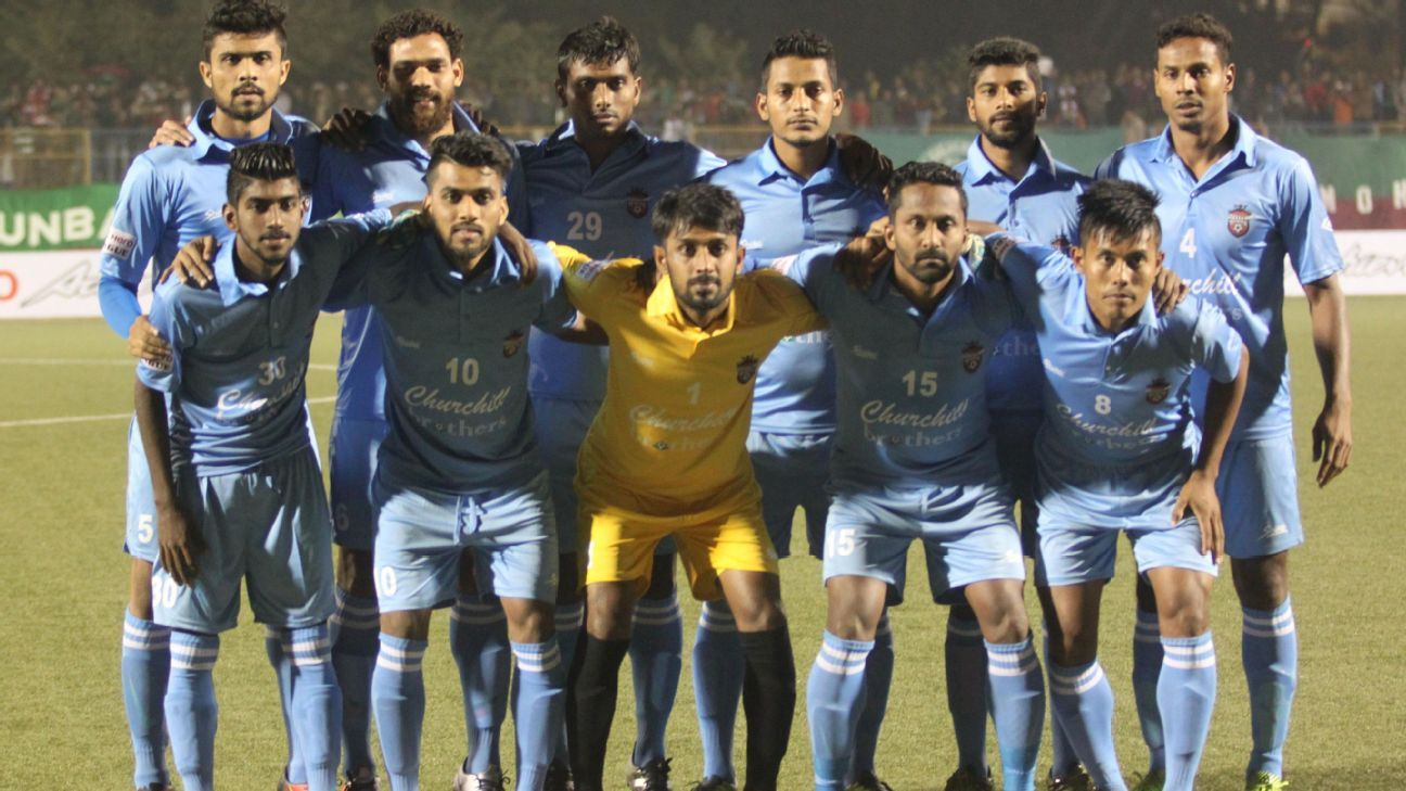 Back-to-back defeats at home have hurt Churchill Brothers' confidence.