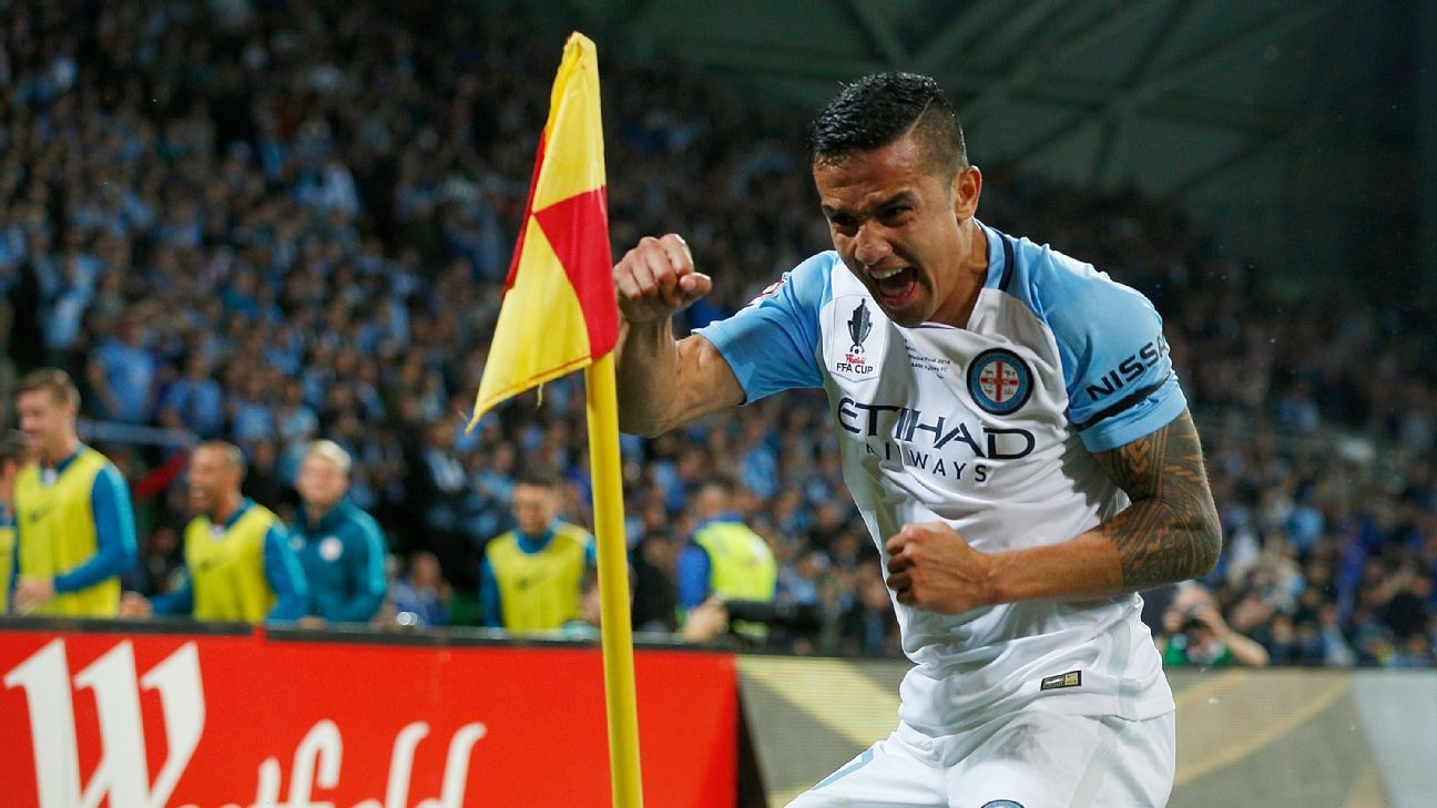 Melbourne City's Tim Cahill
