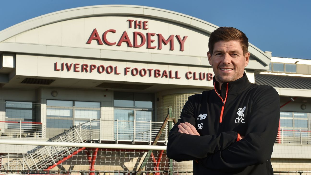 Steven Gerrard returns to Liverpool as academy coach