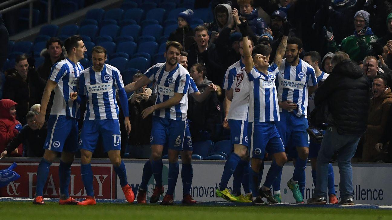 Knockaert the hero as Brighton win thriller vs. Sheff Wednesday