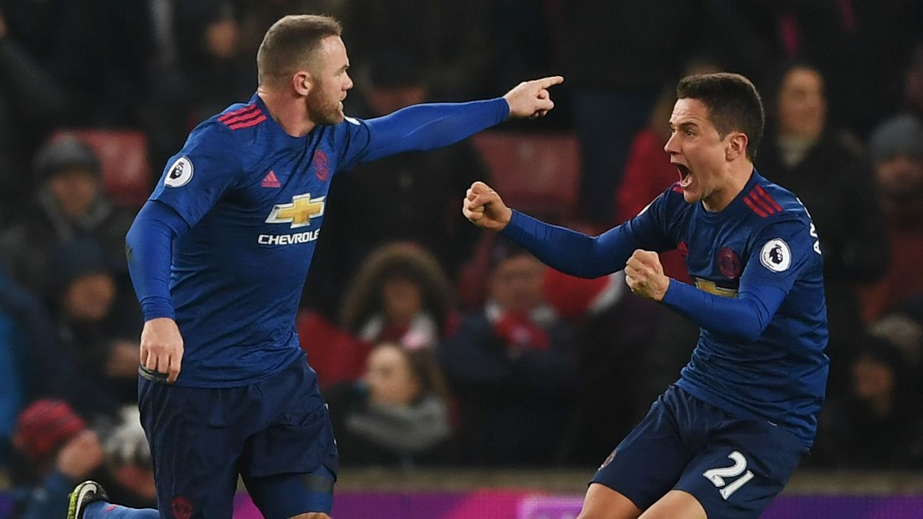 Wayne Rooney breaks Man United scoring record to rescue point at Stoke
