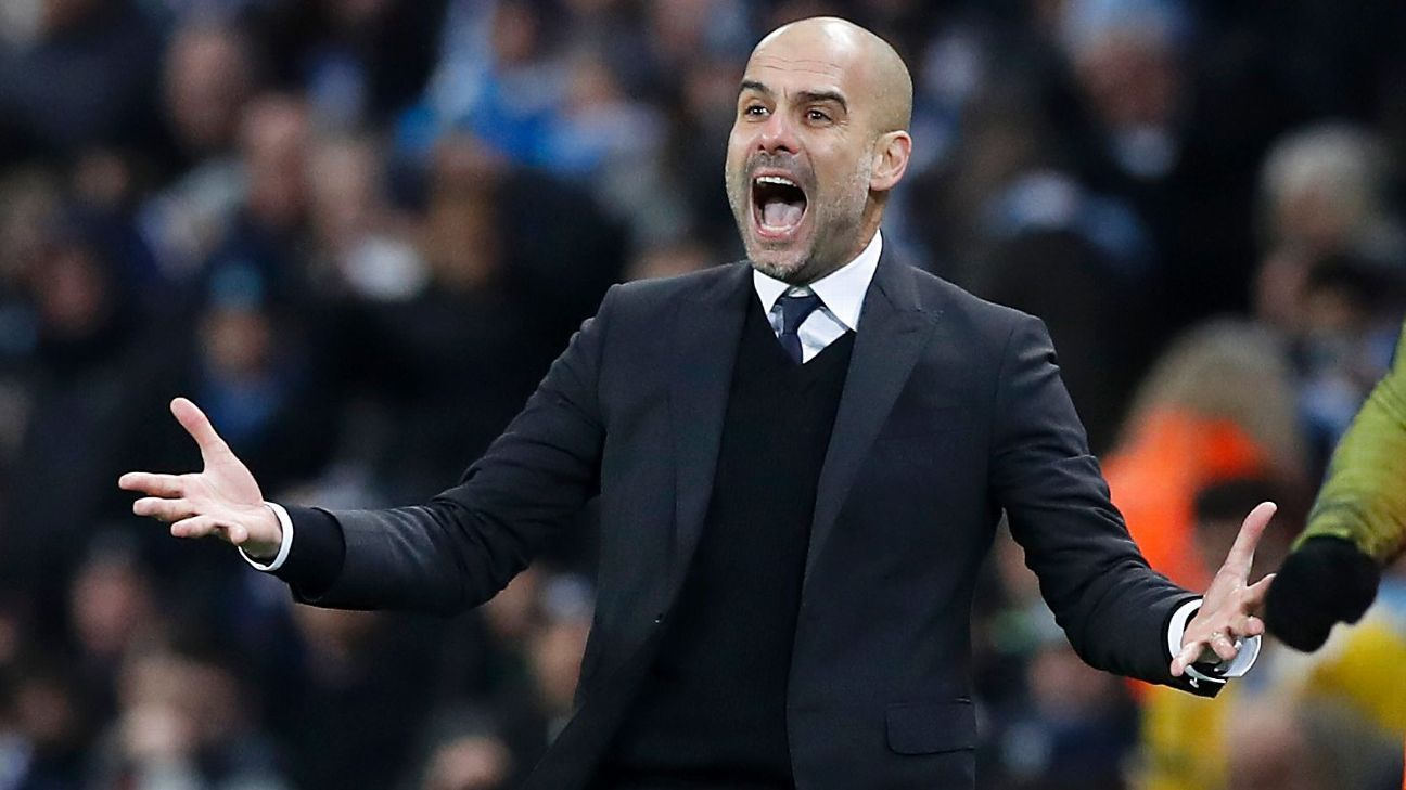 Pep Guardiola: 'I'm never going to give up' on Premier League title