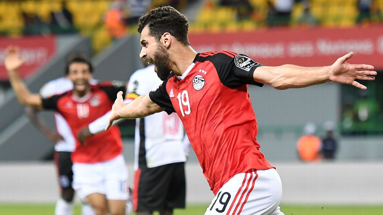 Abdallah El Said scored in the closing minutes to give Egypt the victory.