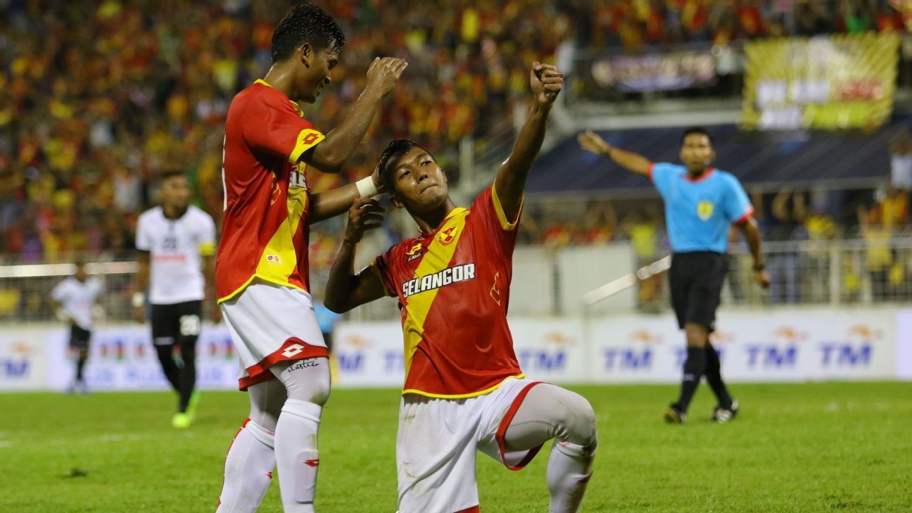 Selangor striker Adam Nor Azlin