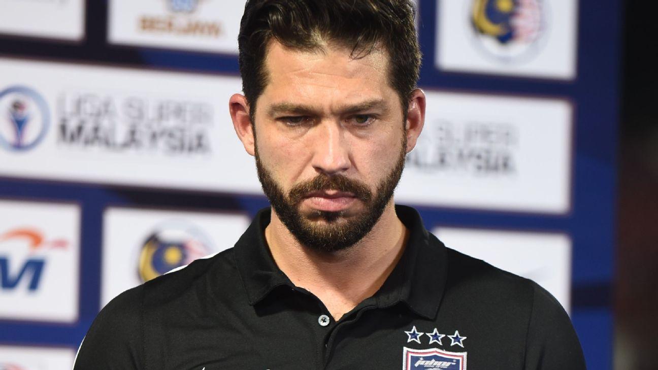 JDT coach Benjamin Mora