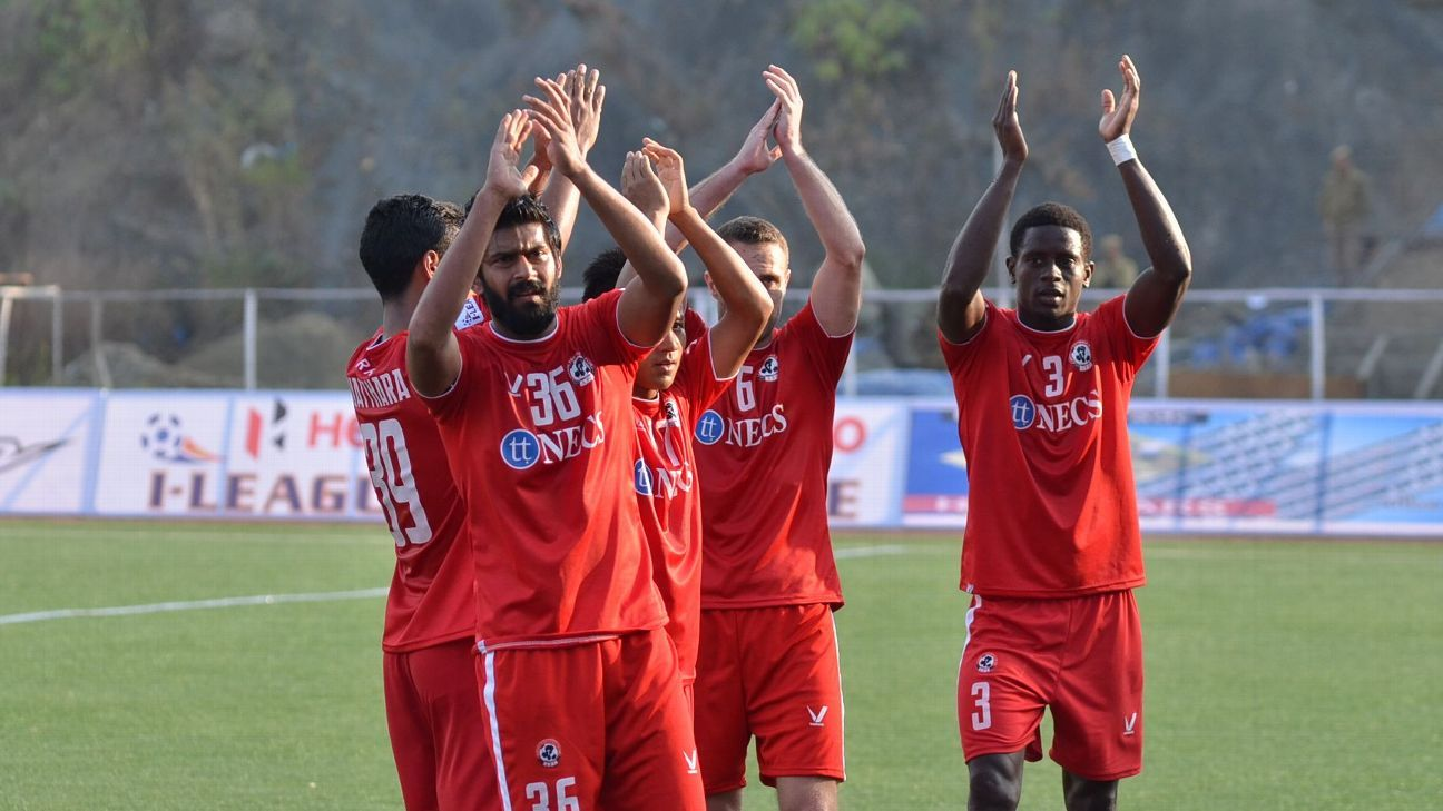 On Saturday, Aizawl expressed themselves in every muscular tackle and eyeball-to-eyeball contest against Mohun Bagan