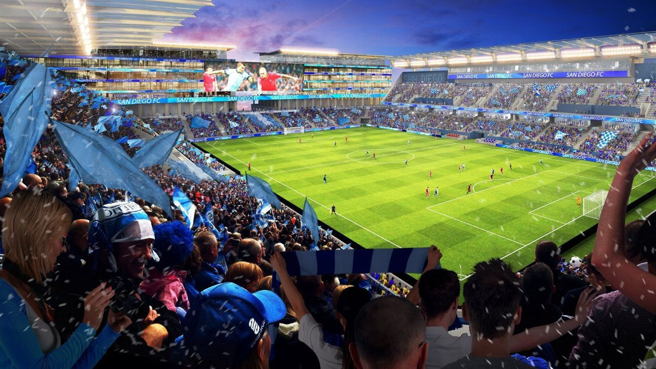 San Diego investors group unveils complete plan for new stadium site
