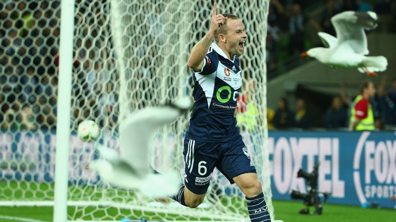 Melbourne Victory's Leigh Broxham