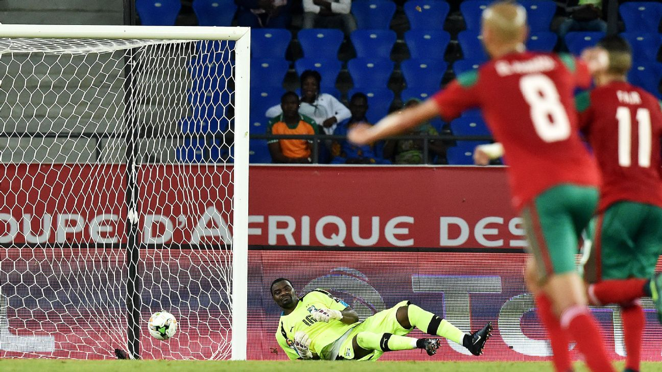 Ivory Coast's goalkeeper Sylvain Gbohouo the only goal in Tuesday's game.