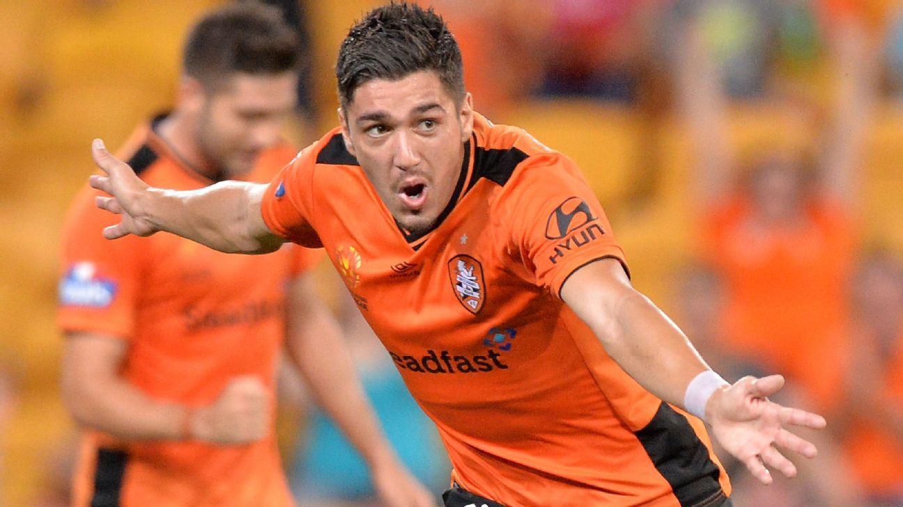 Brisbane Roar's Dimitri Petratos