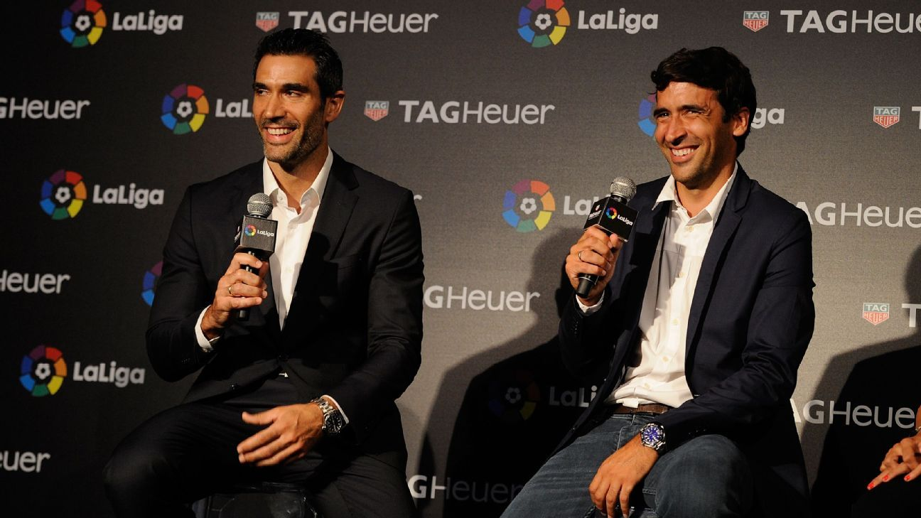 Fernando Sanz and Raul
