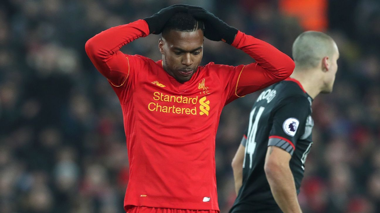 Daniel Sturridge and Liverpool were denied a berth in the EFL Cup final on Wednesday.