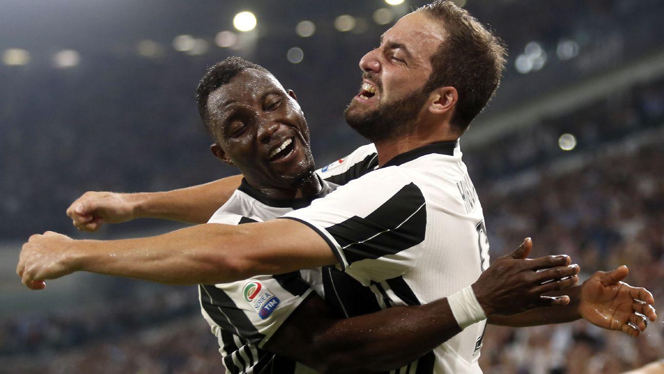 Juventus midfielder Kwadwo Asamoah