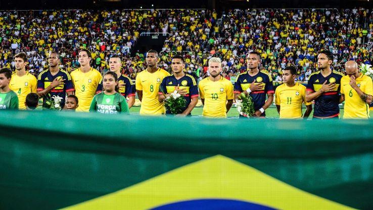 Chapecoense friendly: Brazil vs. Colombia