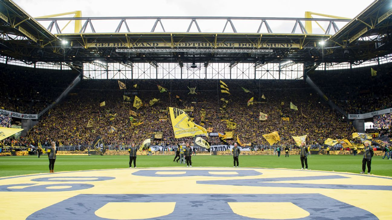 Westfalenstadion's Yellow Wall