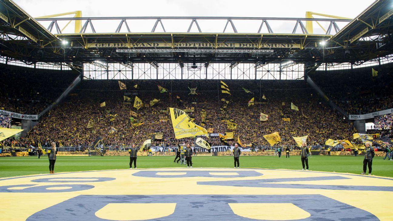Westfalenstadion's Yellow Wall