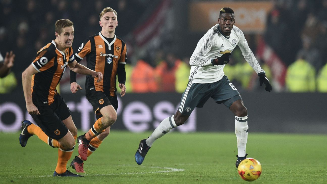 Manchester United reach Wembley EFL Cup final but struggle at Hull as unbeaten run ends