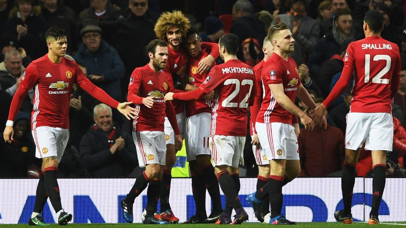 Manchester United are safely into the FA Cup fifth round.