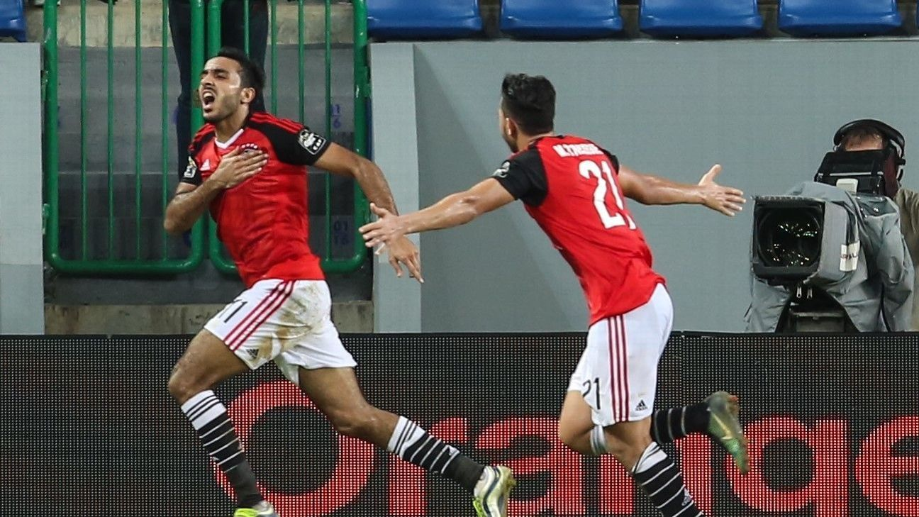 Mahmoud Kahraba scored Egypt's winner in the 87th minute.