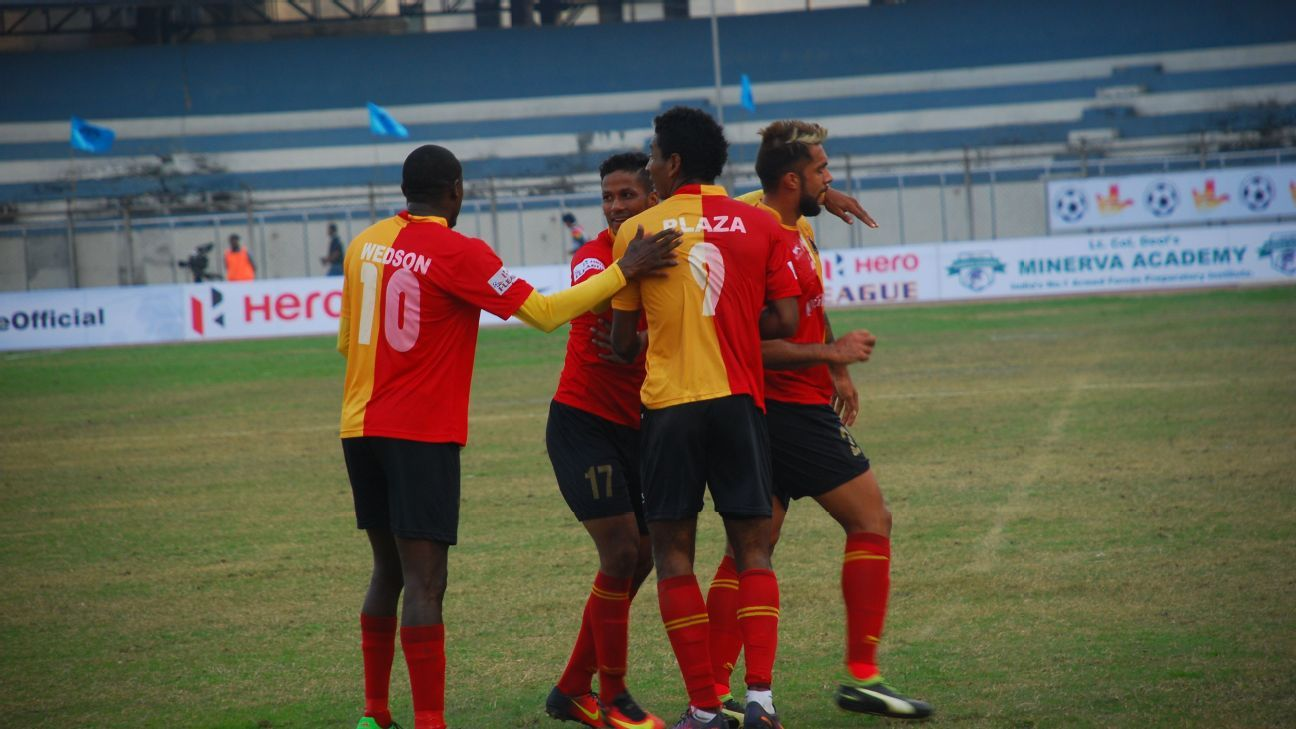 East Bengal beat Minerva FC 5-0 in Chandigarh on January 29.