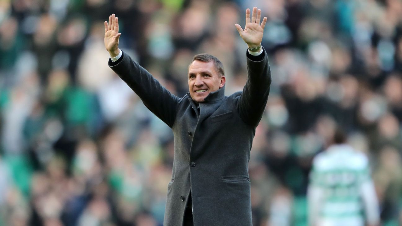 Brendan Rodgers, Celtic clean up in PFA Scotland year-end awards