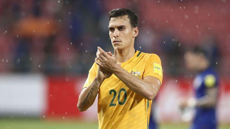 Australia midfielder Trent Sainsbury has left Jiangsu Suning.