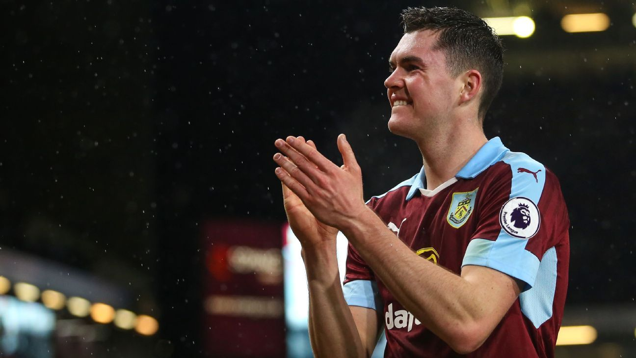 Burnley defender Michael Keane