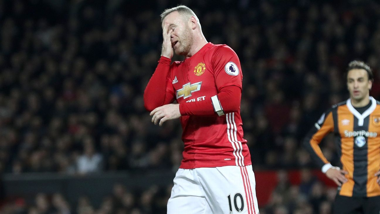Man United boss Jose Mourinho: Wayne Rooney may not make EFL final