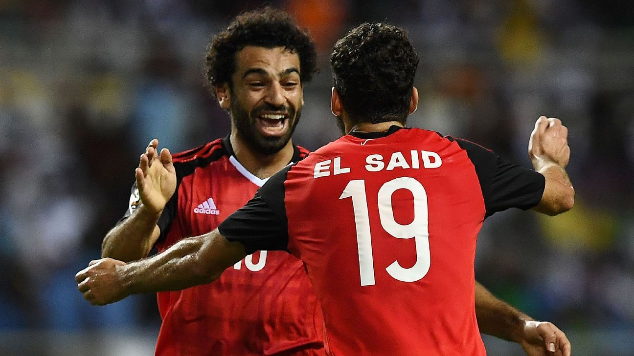 Mohamed Salah & Abdallah Said