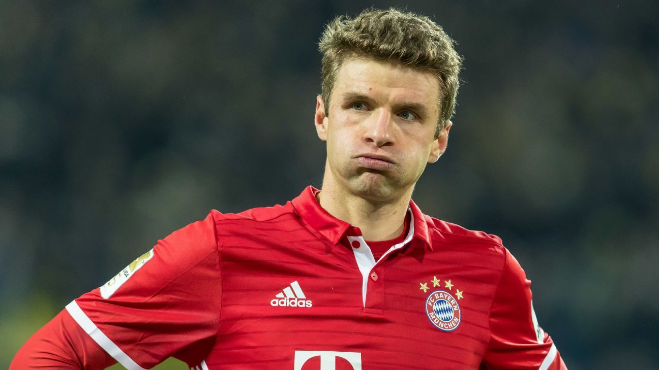 Thomas Muller talks to ESPN FC about his slump Bayern ...