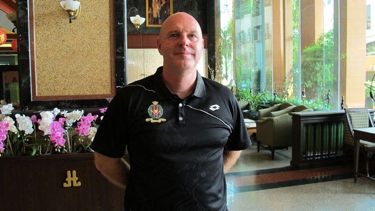Brunei DPMM coach Steve Kean