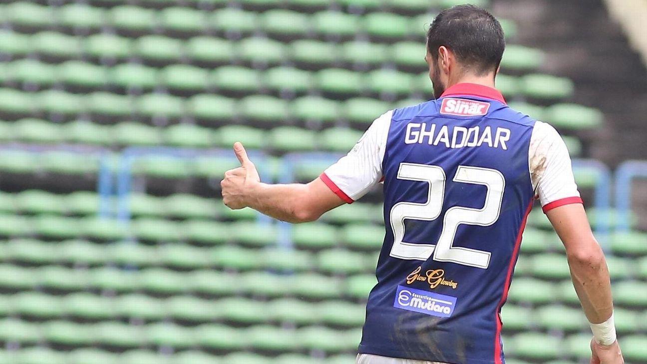 Kelantan striker Mohammed Ghaddar