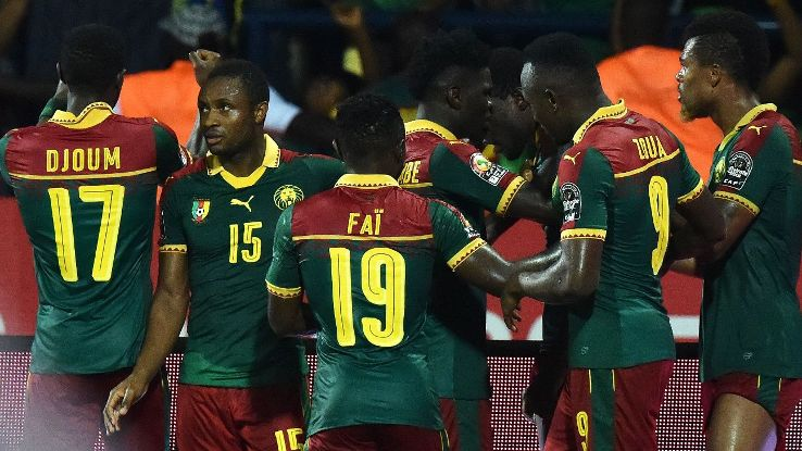 Cameroon reached their seventh African Nations Cup final on Thursday.