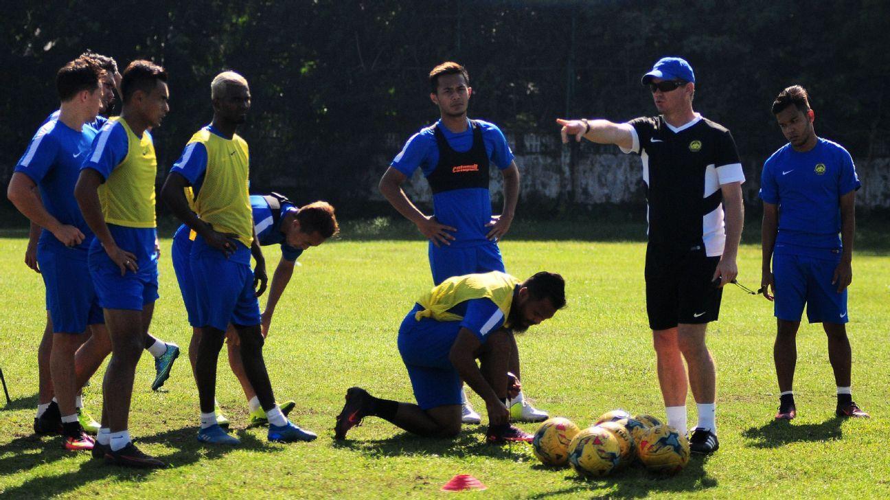 Malaysia assistant coach Brad Maloney