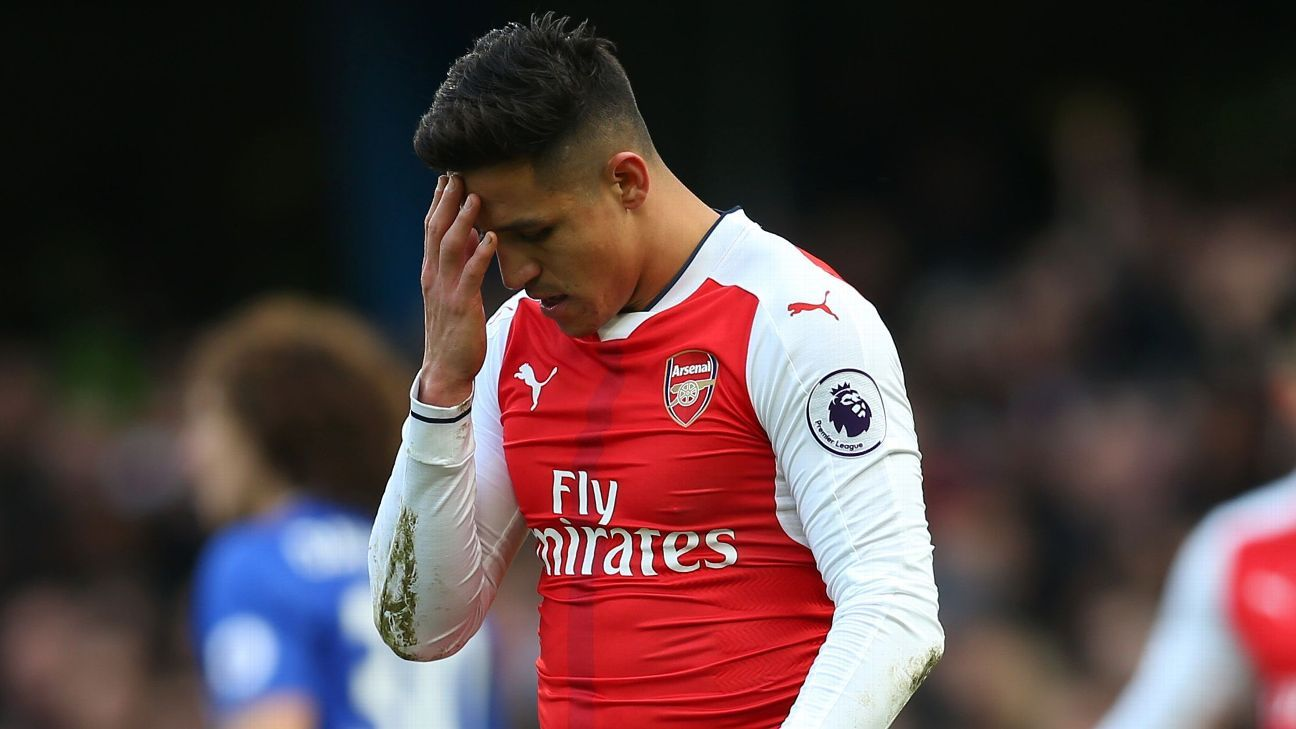 Alexis Sanchez's contract has a year to run and so far no extension has been agreed.