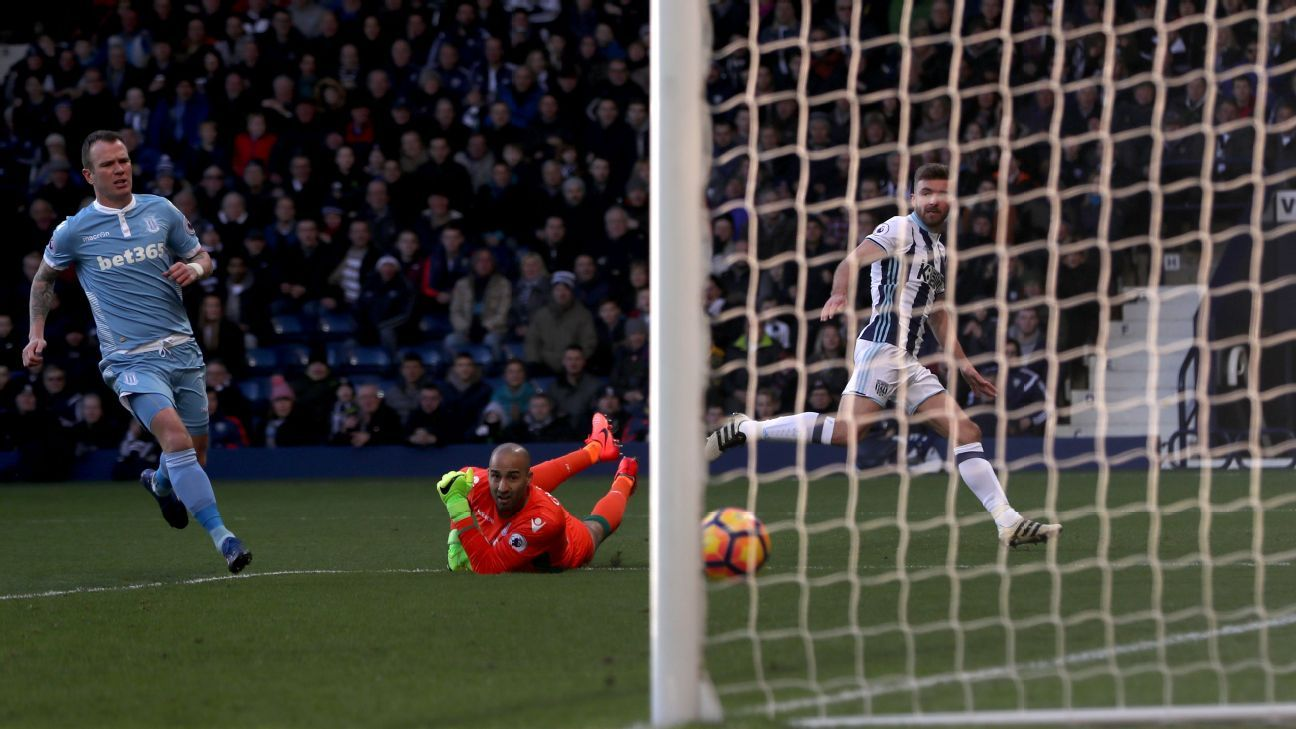 James Morrison scored West Brom's winner.