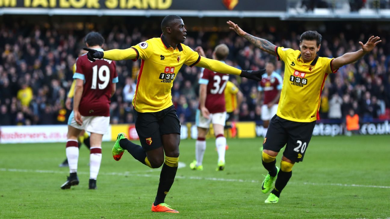 M'Baye Niang was on target for Watford.