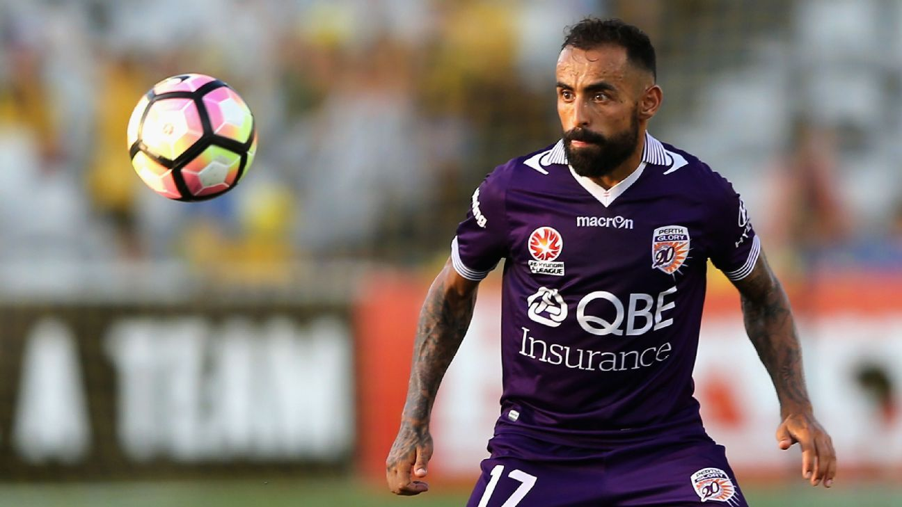 Perth Glory's Diego Castro