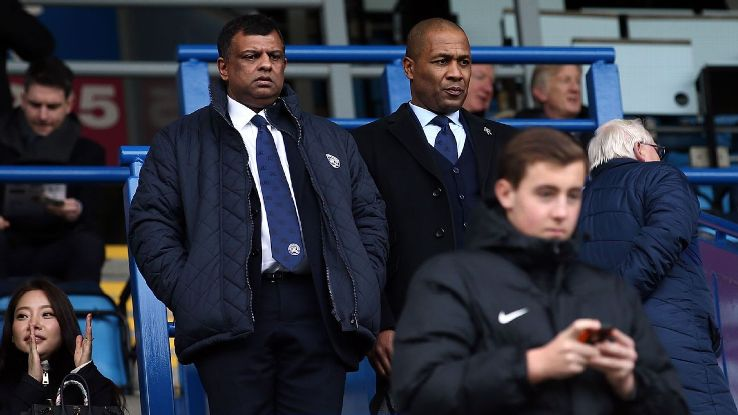 Tony Fernandes and Les Ferdinand of QPR