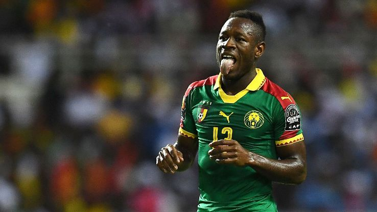 Africa Cup of Nations 2017 Player of the Tournament Christian Bassogog