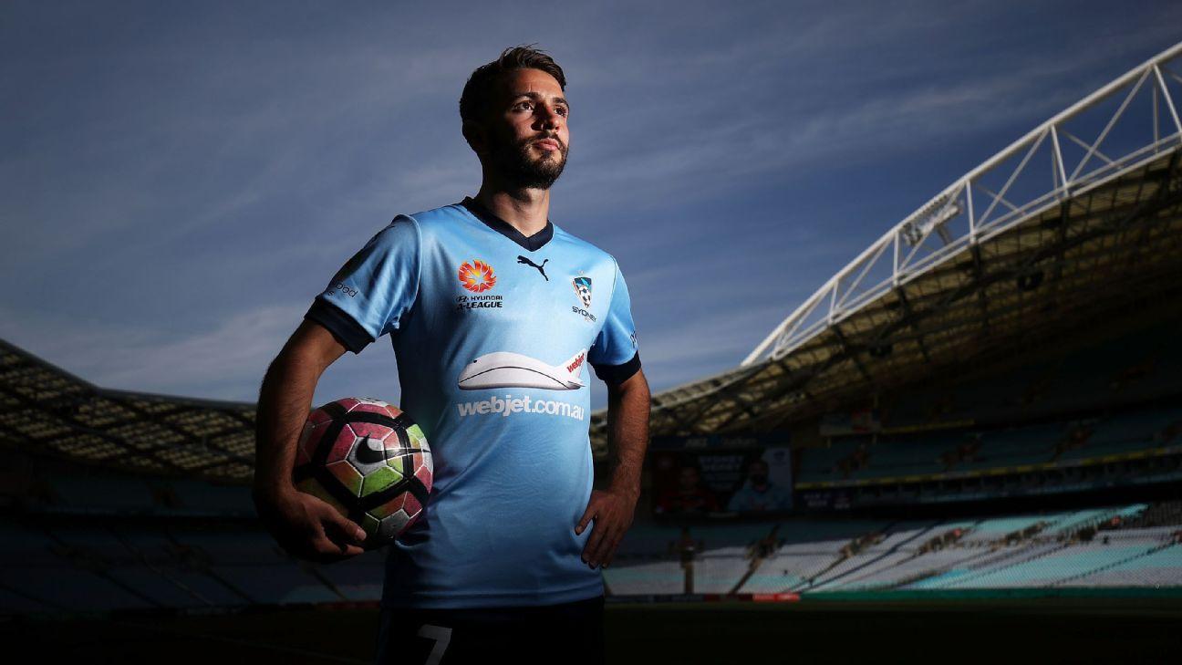 Sydney FC's Michael Zullo