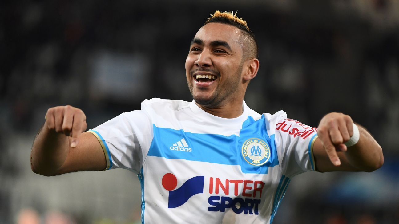 Dimitri Payet and Memphis Depay score as Marseille and