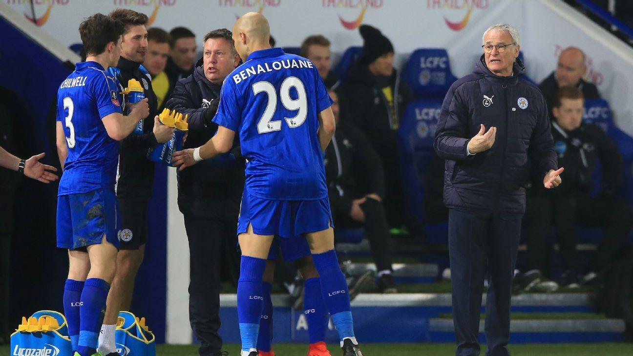 Ranieri sidelines FA Cup 170208
